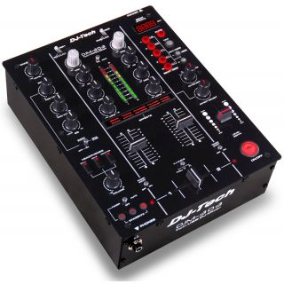 0-DJ TECH DJM303USB - MIXER