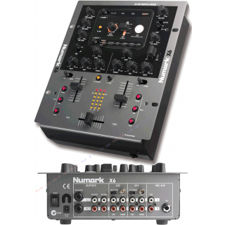 0-NUMARK X6 - MIXER DIGITAL