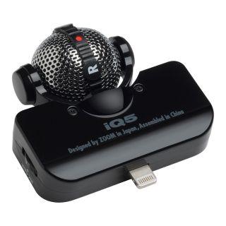 0-ZOOM iQ5/B Black  microfo