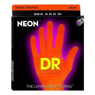 0-DR Strings NOB-45 Neon Or