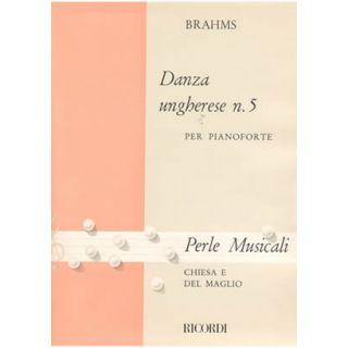 0-RICORDI Brahms - DANZA UN