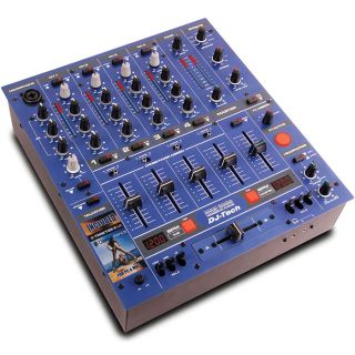 0-DJ TECH DDM3000 BLU MIXER