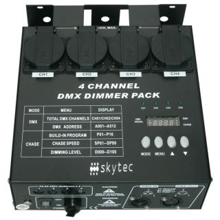 0-TRONIOS 4 CHANNEL DIMMER