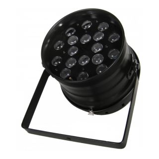 0-FLASH LED PAR 64 18x10W R