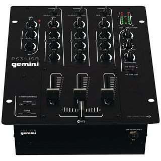 0-GEMINI PS3 USB - MIXER 3
