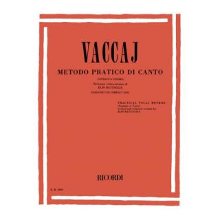 0-RICORDI Vaccaj - METODO P