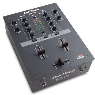 0-DJ TECH DIF-1S - MIXER DJ