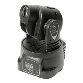 0-FLASH MOVING HEAD LED 15W