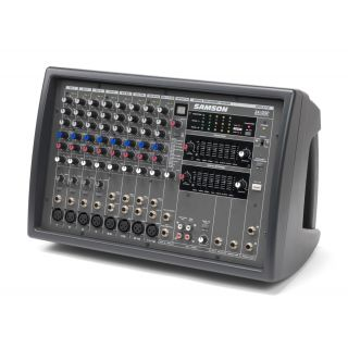 0-Samson XML610 - Mixer amp