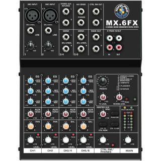 0-Topp Pro MX6 FX Mixer con