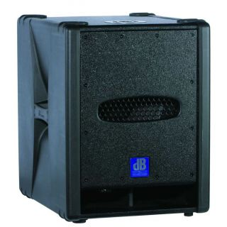 DB TECHNOLOGIES 12D - Subwoofer Amplificato 800W_front