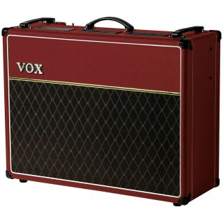 0-VOX AC30C2 RED Limited Ed