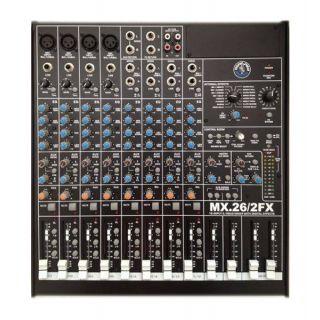 0-Topp Pro MIX26-2 FX Mixer
