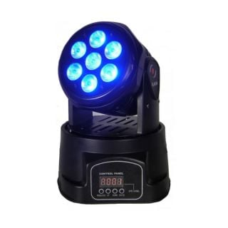 0-FLASH LED MOVING HEAD 7X1