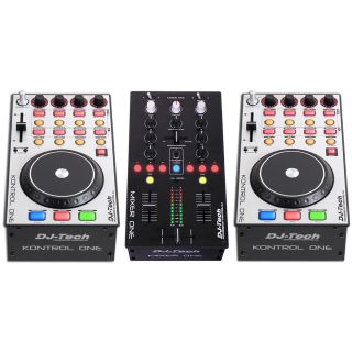0-DJ TECH KIT ONE [MIXER ON