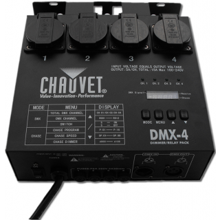 0-CHAUVET DMX 4SH - Dimmer/