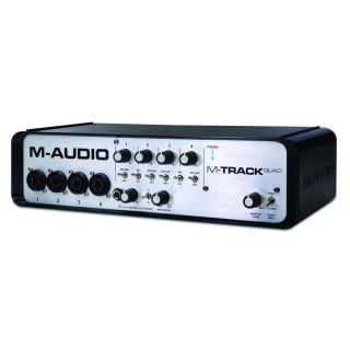 0-M-AUDIO M-Track Quad - Sc