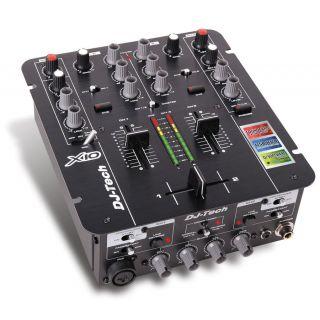 0-DJ TECH X10 - MIXER DJ 2