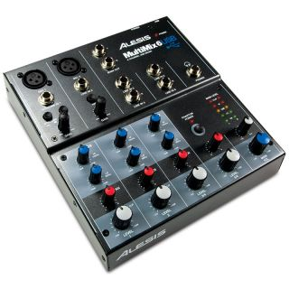 0-ALESIS MULTIMIX 6USB - MI