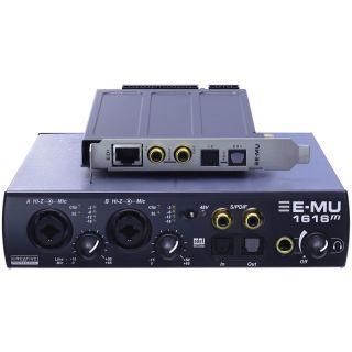 0-E-MU 1616M PCIe - SCHEDA