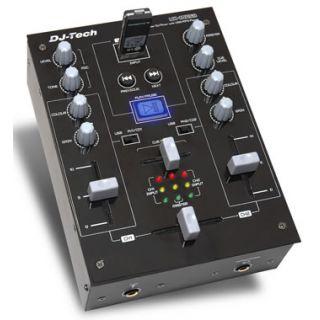 0-DJ TECH MX10 USB - MIXER