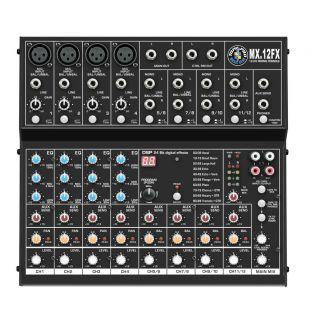 0-Topp Pro MX12 FX Mixer co