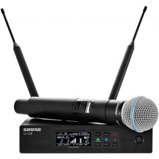 SHURE QLXD24E/B58A - Radiomicrofono Palmare UHF