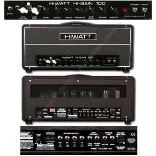 0-HIWATT HG-100HD SER - TES