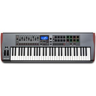 NOVATION IMPULSE 61 Tastiera Controller Midi/USB 61 Tasti_front