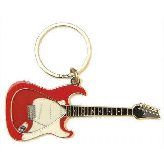 0-PICKLACE RED STRAT KEYCHA