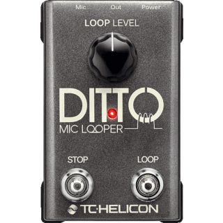 0 TC HELICON - DITTO MIC LOOPER