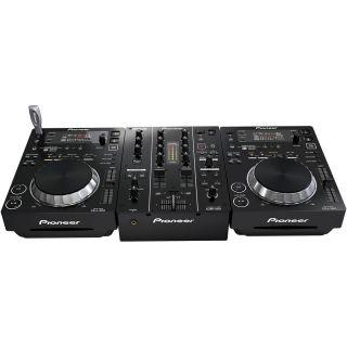 1-PIONEER CDJ350 + DJM350 +