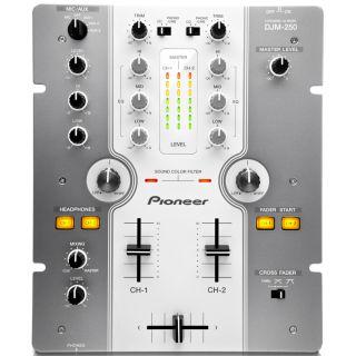 1-PIONEER DJM250W White - M