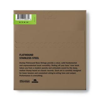 1 Dunlop - DBFS50110 Flatwound Scala Lunga 50-110 4/Set