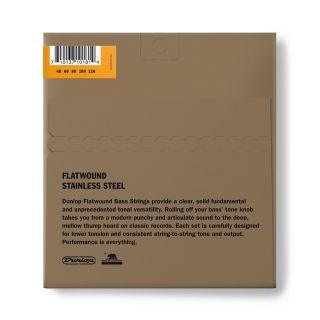 1 Dunlop - DBFS40120 Flatwound Light Scala lunga Set/5