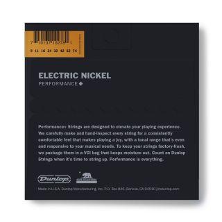 1 Dunlop - DEN0974 Nickel Plated Steel, Hybrid Extra Light, Set/8
