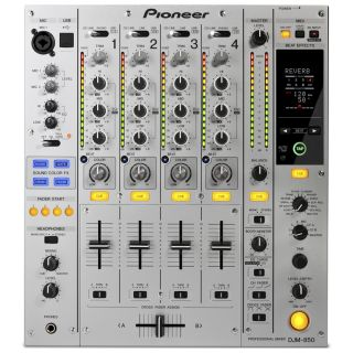 1-PIONEER DJM850S Silver -