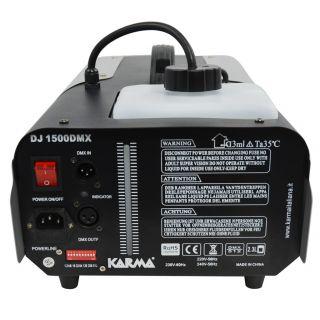 1-KARMA DJ 1500DMX - Macchi