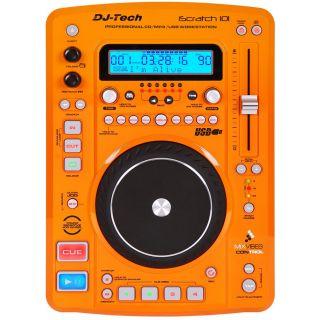 1-DJ TECH (coppia) ISCRATCH