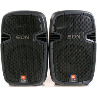 1-JBL EON 210P Portable PA