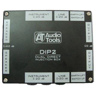 1-AUDIO TOOLS DIP2 - DI BOX