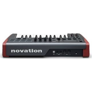 NOVATION IMPULSE 25 Tastiera Controller Midi/USB 25 Tasti_side