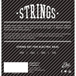 1 Eko - Electric Bass Strings 45-105 set