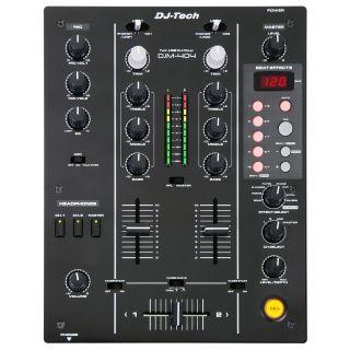 1-DJ TECH DJM-404 - Mixer p