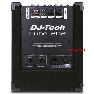 1-DJ TECH CUBE 202 - SISTEM