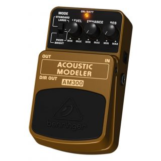 1-BEHRINGER AM300 ACOUSTIC
