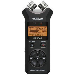 1-TASCAM DR07 MKII - REGIST