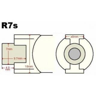 1-PROEL Lineare 800W  R7S 8