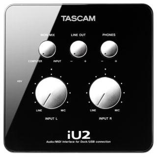 1-TASCAM iU2 - INTERFACCIA