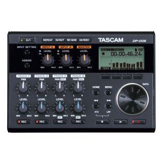 Tascam DP006 - Registratore Digitale Multitraccia Portatile per Strumenti Musicali02